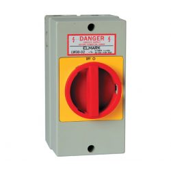 Forgókapcsoló doboz LW30-32 32A 3p+zárható+vízálló Ip54 Elmark