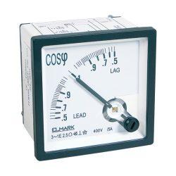 Cos F mérő 3P 400V Elmark