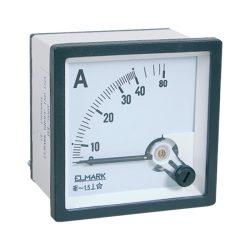 Ampermérő DC 0-50A Elmark