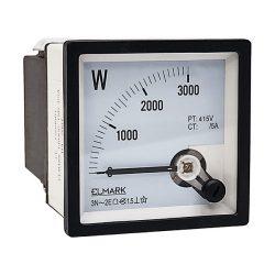 Wattmérő 0-3000W 3p 3L Elmark