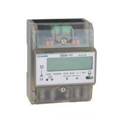 Fogyasztásmérő DIN-RAIL DDS-3Y 80 20/80 400V egy tarifás Elmark