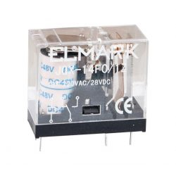Ipari relé 14fC 12VDC ELMARK