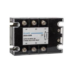 Szilárdtest relé ZG33-3-10B 400VAC 10A 3P Elmark
