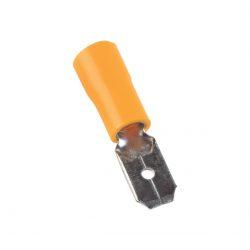 Szigetelt csúszó saru csap apa 2,5mm sárga 4-6 vezetékhez ELMARK