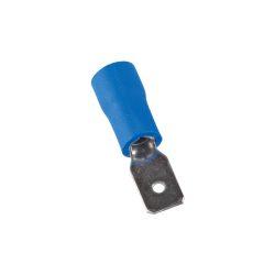 Szigetelt csúszó saru csap apa 2,5mm kék 1,5-2,5 vezetékhez ELMARK