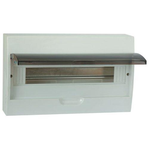 Elosztószekrény falon kívüli doboz Ip40 4 modul ELMARK