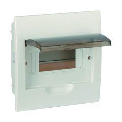Elosztószekrény süllyesztett doboz Ip40 6 modul ELMARK