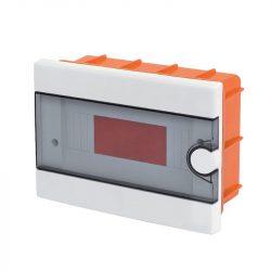 Műanyag elosztódoboz 9 modulos - falba építhető Elmark
