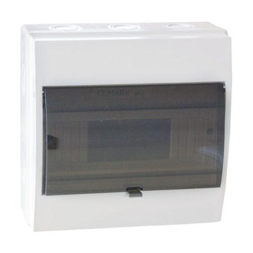 Elosztószekrény falon kívüli doboz Ip55 4 modul ELMARK