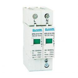 Túlfeszültség levezető SpD-C10/1pN In 10KA ELMARK