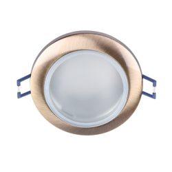 Fürdőszobai spotlámpa GU5.3 IP44 antik arany Elmark