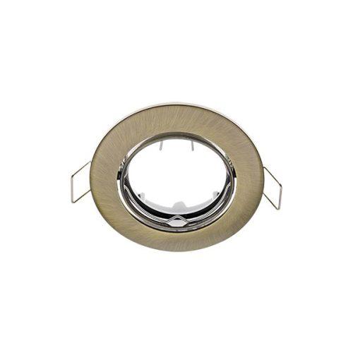 Beépíthető keret antik bronz SA-70 MR16 ELMARK