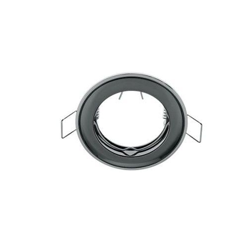Beépíthető keret grafit/króm SA-71 MR16 ELMARK