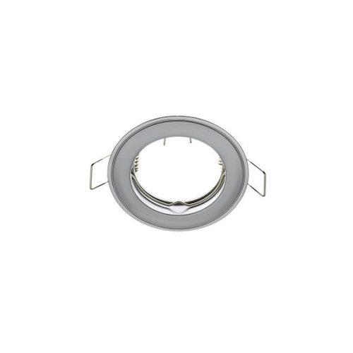Beépíthető keret gyöngy króm/króm SA-71 MR16 ELMARK