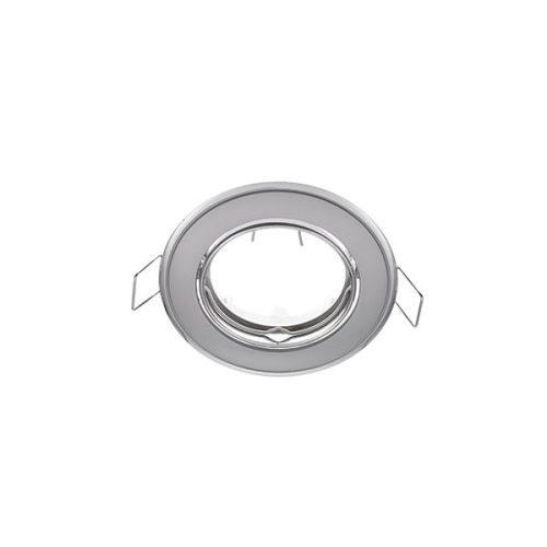 Beépíthető keret gyöngy króm/króm SA-91 MR16 ELMARK