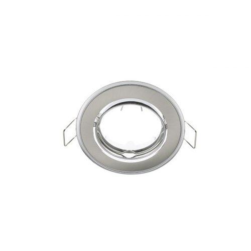 Beépíthető keret szatén nikkel/króm SA-91 MR16 ELMARK