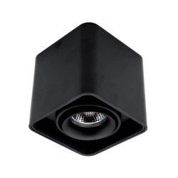 Spot lámpatest 1XGU10 négyzet billenthető fekete Elmark