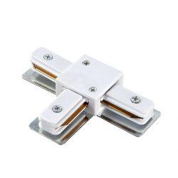 T-elem adapter 1 fázisú sínhez fehér SKYWAY 430 ELMARK