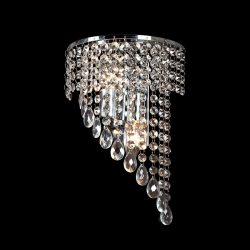 INNA kristály fali lámpa 2XE14 króm ELMARK