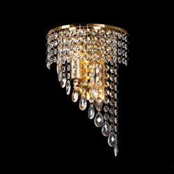 INNA kristály fali lámpa 2XE14 arany ELMARK