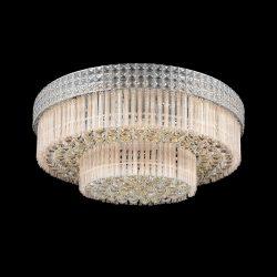 MISHELLE kristály mennyezeti lámpa 8XE14 króm ELMARK