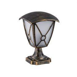 Nick lámpa 1XE27 antik réz Elmark