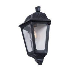 Iesse fali lámpa 1XE27 IP55 fekete Elmark