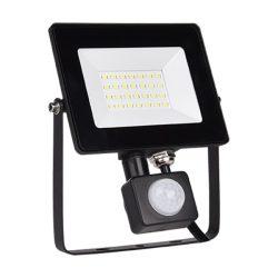 20W LED reflektor mozgásérzékelős HELIOS 5000-5500K ELMARK
