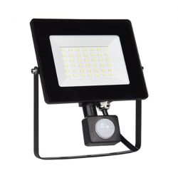 30W LED reflektor mozgásérzékelős HELIOS 5000-5500K ELMARK