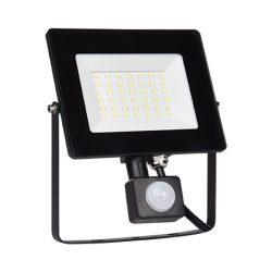 50W LED reflektor mozgásérzékelős HELIOS 5000-5500K ELMARK