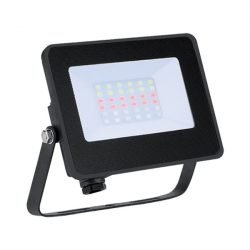 Led reflektor 15W RGB IP65 infravörös távirányítóval Elmark