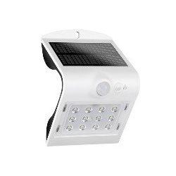 1,5W solar napelemes fali LED lámpa mozgásérzékelős IP64 ELMARK