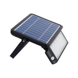 Napelemes reflektor mozgásérzékelővel 50W IP65 ELMARK