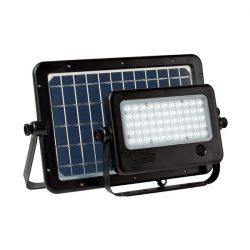 Monokristályos napelem+ reflektor RADAR SENSOR  50W IP65 ELMARK