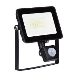 20W SLIM 5000K-5500K mozgásérzékelős LED reflektor / fényvető ELMARK