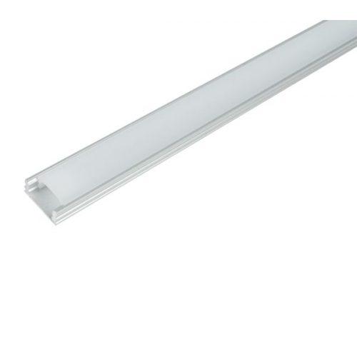 Felületre szerelhető alu profil + matt fedél 2 méter Elmark