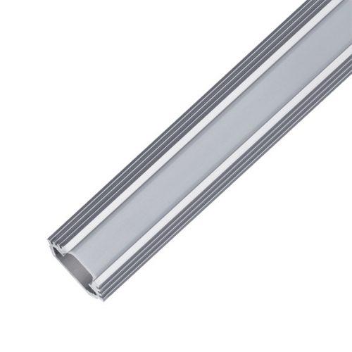 Alumínium profil matt takaróval felületi döntött 1 méter Elm9012/2-1000 ELMARK