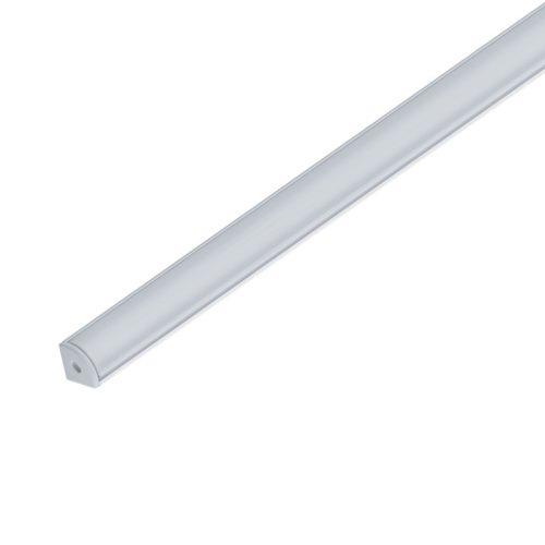 Alumínium profil matt takaróval felületi döntött 2 méter Elm9012/2-2000 ELMARK
