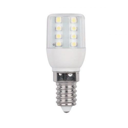 1W E14 230V meleg fehér LED égő 16smd 3528 ELMARK