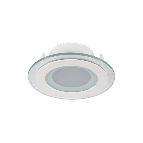 6W 4000K-4300K LED panel kör üveg Elmark