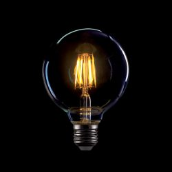 8W E27 Vintage LED fényforrás G95 2800-3200K ELMARK