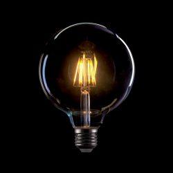 8W E27 Vintage LED fényforrás G125 2800-3200K ELMARK