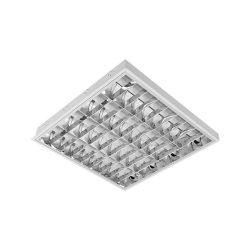 4X9W 4000K LENA LED lámpatest + LED cső (600mm) ELMARK