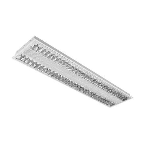 2x28W tükrös elektronikus lámpatest süllyesztett Viki ELMARK