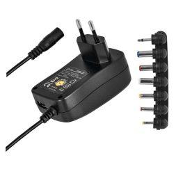 Univerzális töltőadapter 1500mA USB Emos