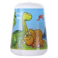 Led éjjeli lámpa gyerekeknek Dino, 3×AAA Emos