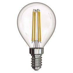4W E14 természetes fehér filament LED fényforrás gömb NW EMOS