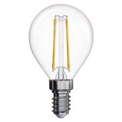 2W 4100K E14 filament kisgömb izzó Emos