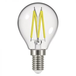 6W 4000K E14 filament kisgömb izzó Emos