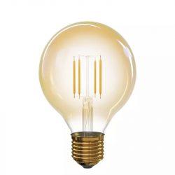 LED IZZÓ VINTAGE G95 E27 4W WW+ EMOS